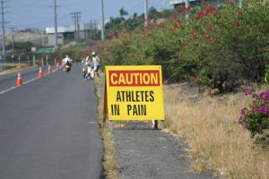 athletes in pain sign