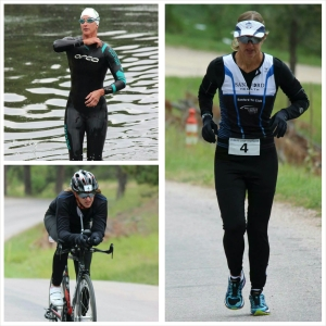 Kathy Grady won the women's division of the inaugural Wildlife Loop Triathlon this past Saturday.